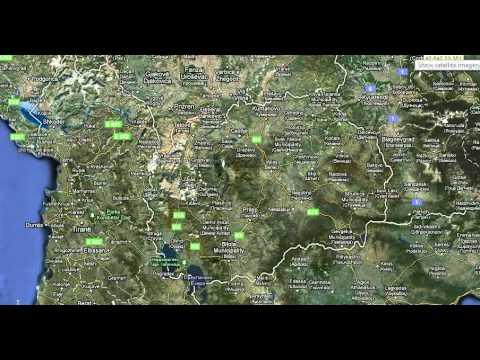 Macedonia On Google Maps Earth Youtube