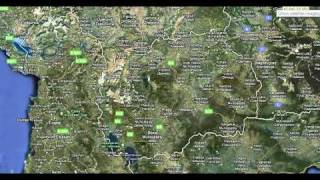 Macedonia Google Maps Earth