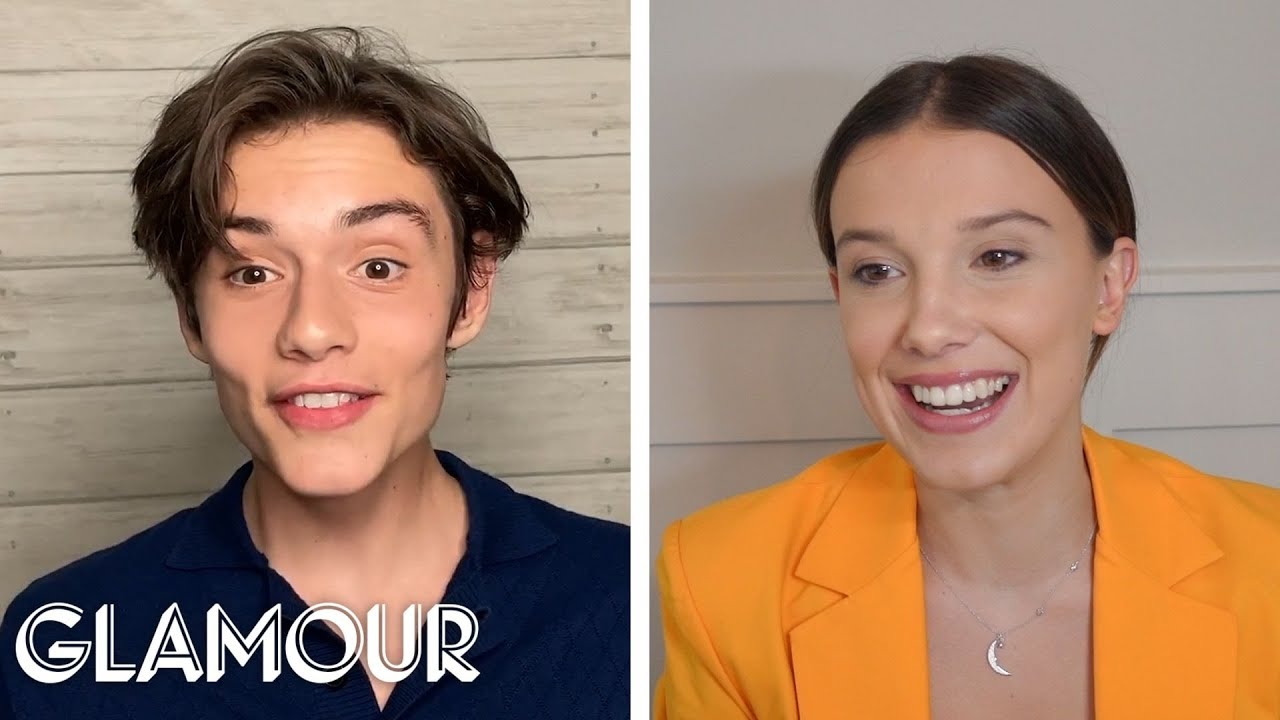 Millie Bobby Brown and Louis Partridge Take a Friendship Test | Glamour