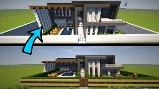 Minecraft: Building & Transforming Modern Houses!