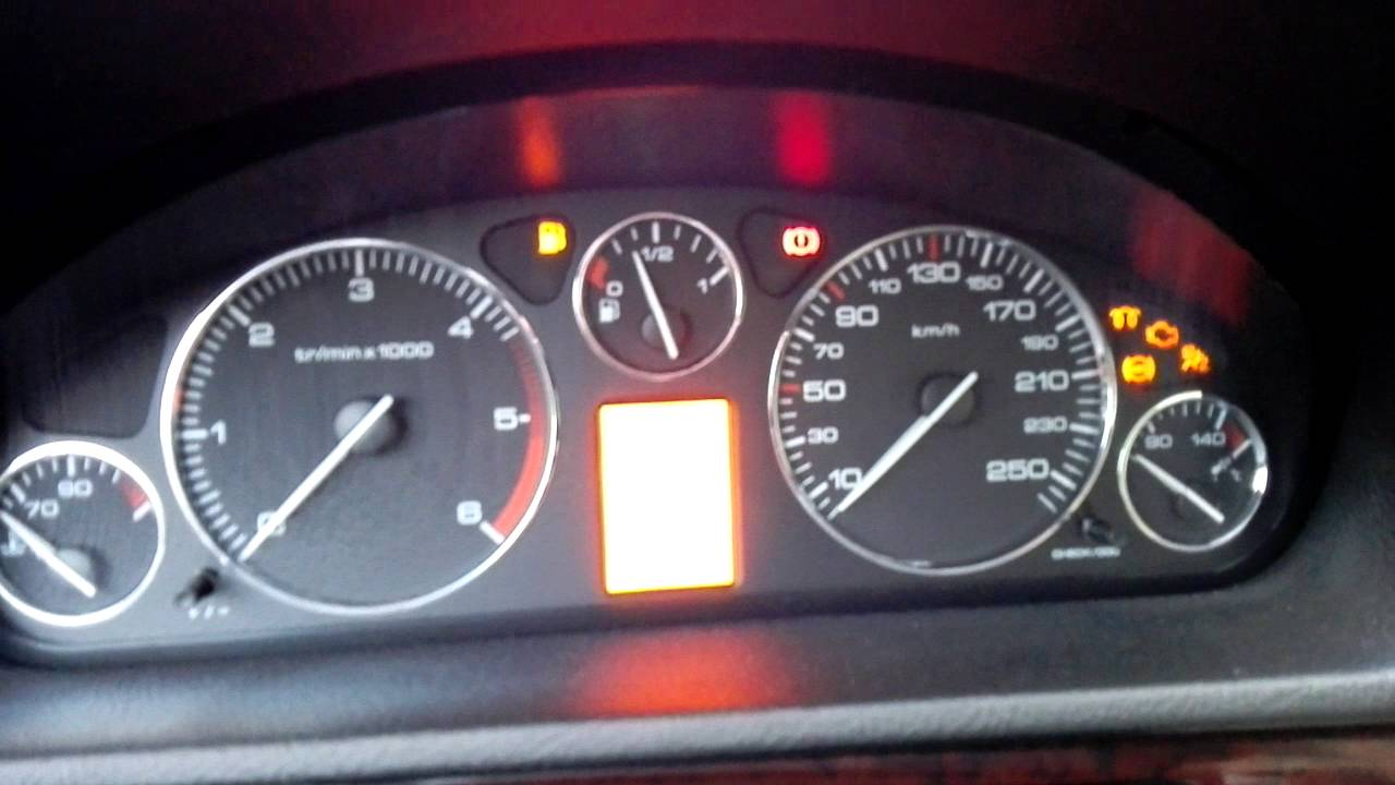 Peugeot 407 2.0 HDI FAP cold start problems (-12) - YouTube