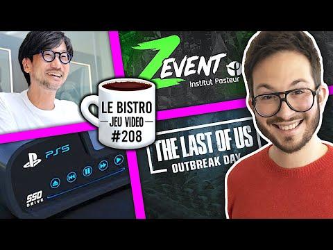 La PS5 Pro évoquée, Kojima répond aux critiques, The Last of Us 2, record mondial pour Zevent...