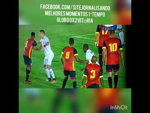 Melhores momentos de Globo 0x2 Vitória Copa do Brasil 07/02/18