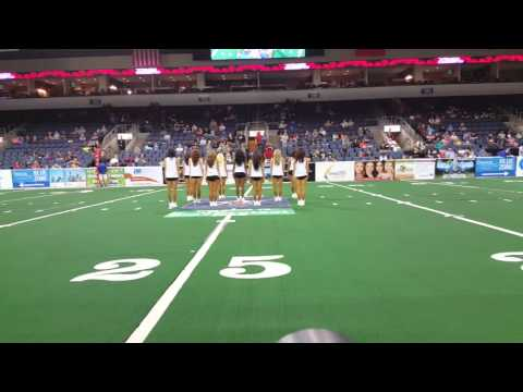Texas Revolution Dancers - 041516 3rd Quarter