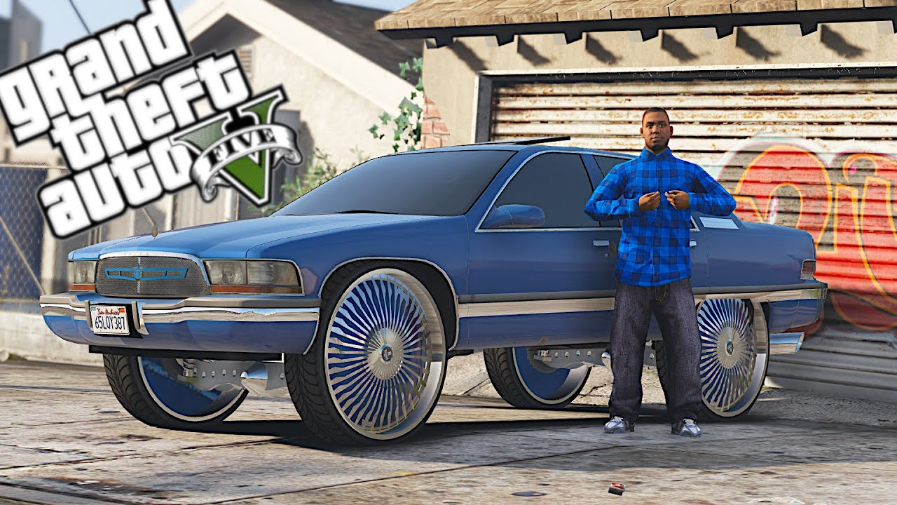 GTA 5 - GANG LIFE - LARRY DA CRIP! #1