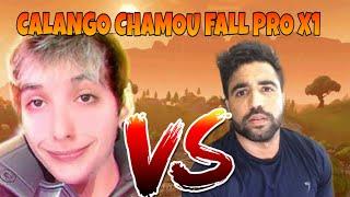 CALANGO vs FALL X X1! QUEM GANHOU? CONFIRA! Fortnite Battle Royal