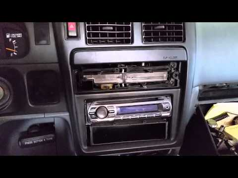 HOW TO: Remove the radio from a Toyota Tacoma