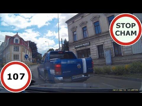 Stop Cham #107 – Niebezpieczne i chamskie sytuacje na drogach