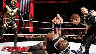 Mark Henry & Big Show vs. Gold & Stardust - WWE Tag Team Championship Match: Raw, Oct. 27, 2014