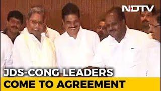 Congress, JDS To Fight 2019 Lok Sabha Polls Together, Announce Karnataka Cabinet Deal