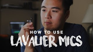 AUDIO TIPS | How To Use Lavalier Microphones