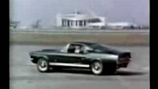 1967 Ford Mustang TV Ad: The Shelby GT with C. Shelby!