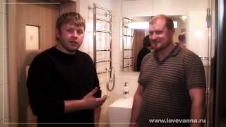 38 Ремонт ванной в загородном доме. Поселок Токкари.(Снято: Студия
