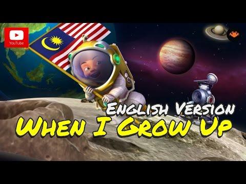 Upin & Ipin - When I Grow Up [English Version] [HD]