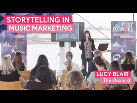 """Storytelling in Music Marketing"" with Lucy Blair, The Orchard 