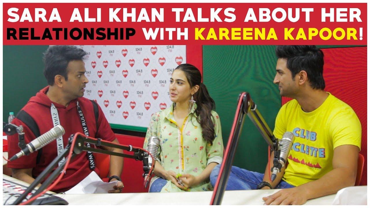 Sara Ali Khan Talks About Her Relationship With Kareena Kapoor!