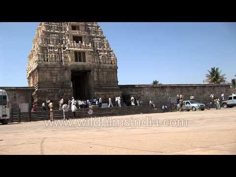 Entrance of Chennakeshava Temple complex - Karnataka
