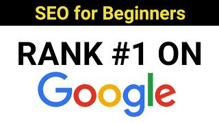 SEO Tips for Beginners to Rank #1 in Google 2018 [Hindi]
