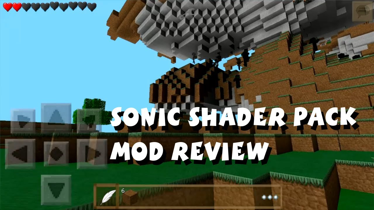 Minecraft Pocket Edition Sonic Shader Mod Review Mcpe 0 8