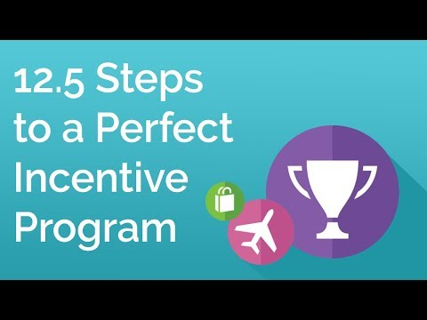 12.5 Steps to a Perfect Incentive Program