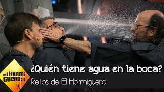 Santiago Segura, José Mota y Florentino Fernández aceptan el reto del agua - El Hormiguero 3.0