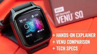 Garmin Venu SQ vs Venu Explainer: Hands-On Details