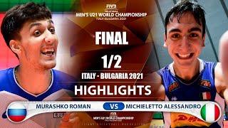 Russia vs Italy | Final | Highlights |  World Champs 2021 Murashko Roman vs Michieletto Alessandro