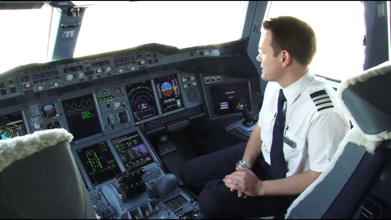 British Airways Take a tour of our A380 Future Pilots