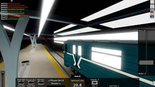 Roblox Rails Unlimited: Moscow Sprinter Multi Track Drifting