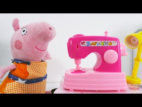 ✿ СВИНКА ПЕППА Собираем грибы Peppa Pig Игрушки Свинка Пеппа на Русском mushroom Peppa Pig Toys