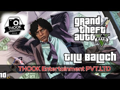 Bank Robbery - Tilu Baloch | GTA 5 Legacy Roleplay India Urdu/HINDI
