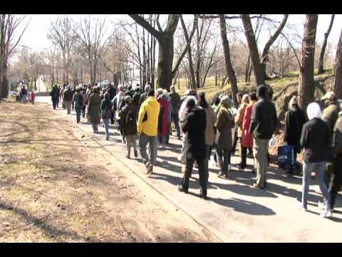 Tour along the Bronx River