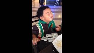 Funny Toddler Sleeps While Eating