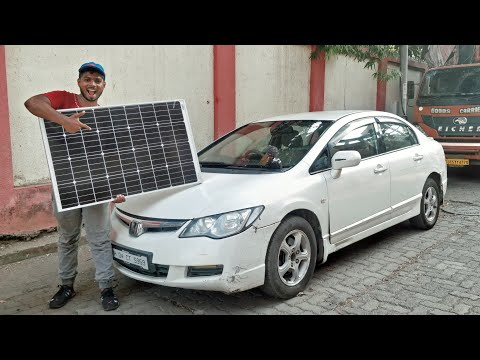Solar panels for my Civic!!!