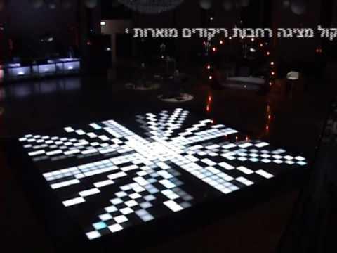 jimmy-kol israel dance floor led