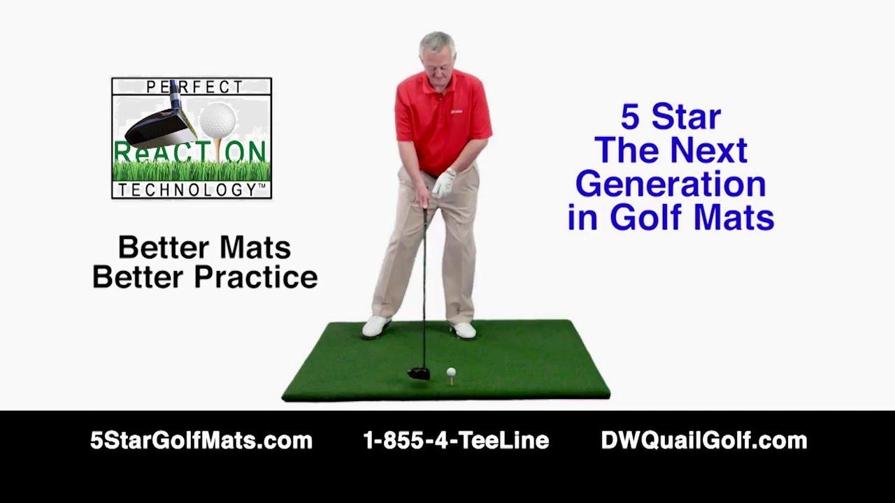 watch the pro dwquailgolf youtube dura in golf mat com mats durapro