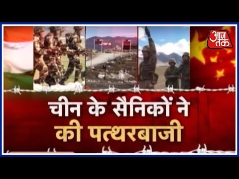 Chinese, Indian Troops Resort to Stone Pelting In Ladakh, Many Injured