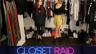 andrea russett  closet raid