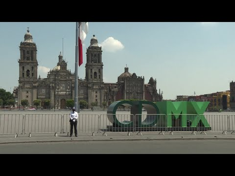 Coronavirus: Downtown Mexico City empty in lockdown | AFP
