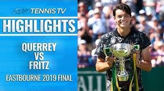 Taylor Fritz Wins First ATP Title! | Eastbourne 2019 Final Highlights