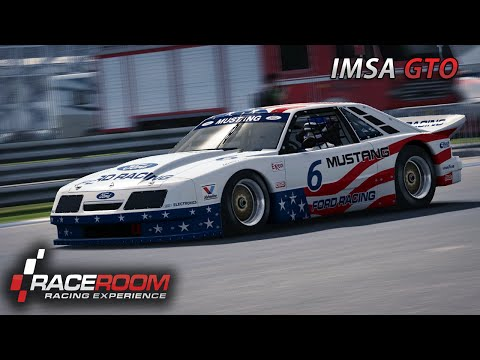 Ford Mustang IMSA GTO | Pedal-Cam | R3E [HD] [GER] Indianapolis