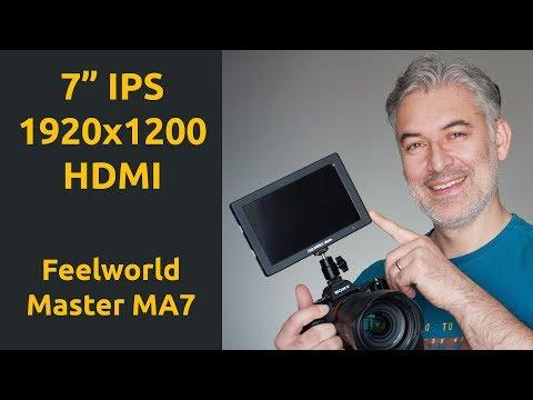 "Feelworld Master MA7 7"" 1920x1200 IPS HDMI Display İncelemesi"