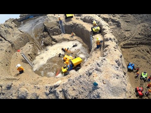 LEGO DAM BREACH - MINE FLOODING AND COLLAPSE