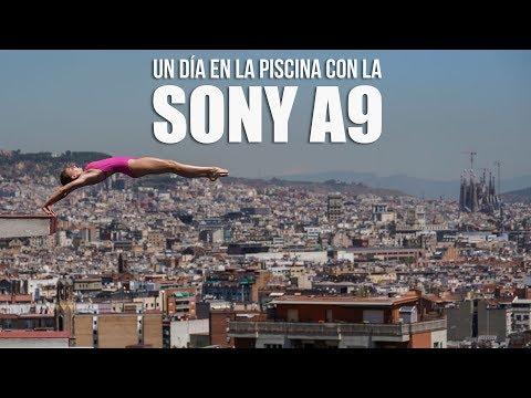 Sony A9, prueba en la piscina de saltos olímpicos de Barcelona