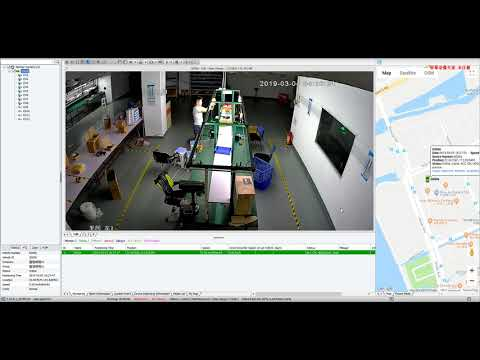 4G Live 1080P Full HD NVR Demo for Vehicle GPS Tracking and Video Monitoring