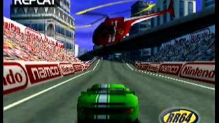 """RR64 - Ridge Racer Novice Lap in 29""""920"""