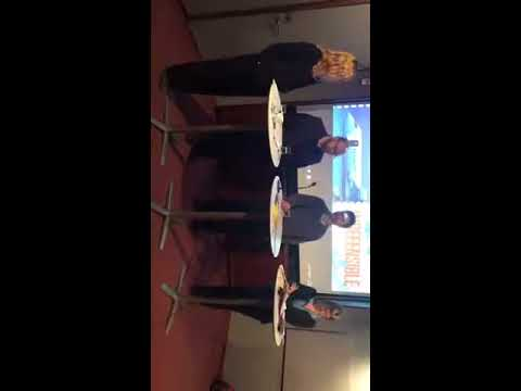 Panelsamtal om vapenexport (Panel discussion about arms trade) In English.