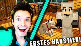 ICH HABE EINEN HUND IN MINECRAFT BEKOMMEN! | Minecraft