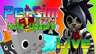 Roblox O PetSim! !!! HatzUpdate Avatar-item-código-Giveaway//(RoadTo700)