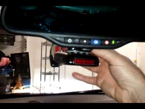 hqdefault how to install universal radar detector mount youtube  at gsmx.co